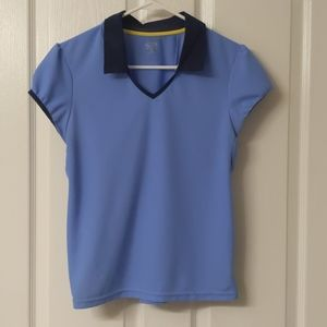 Blue Champion athletic top